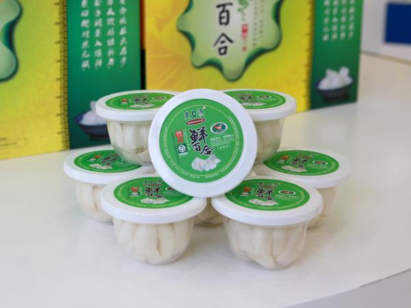 爽口源 真空净片鲜百合80g*8(清炒型)