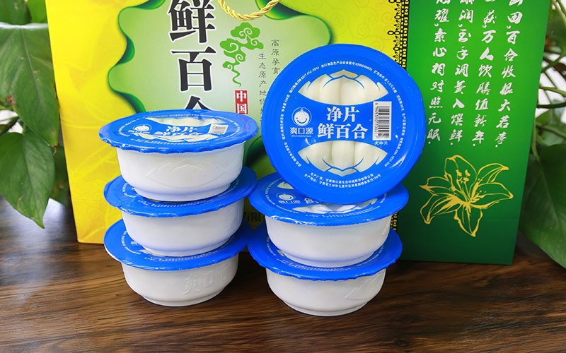 爽口源真空凈片鮮百合 120g*6(清炒型)