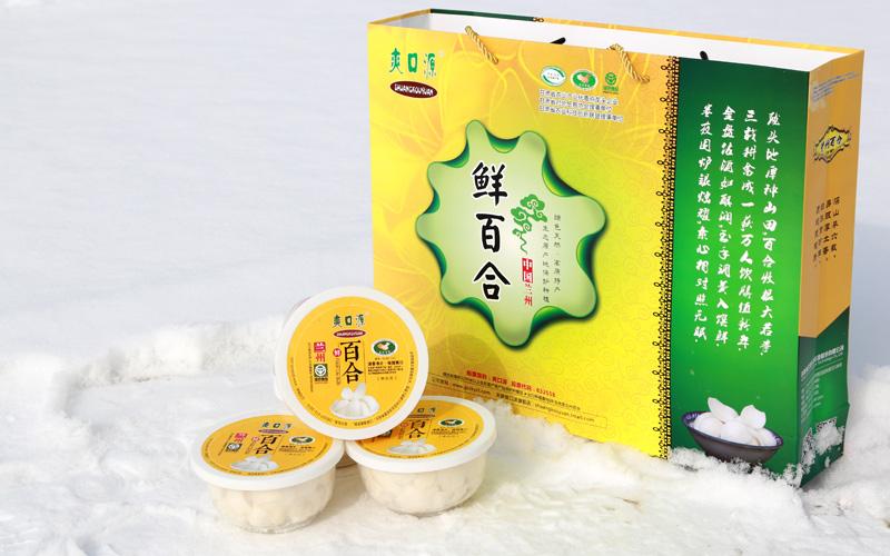 爽口源 真空凈片鮮百合80g*3(蒸燜型)